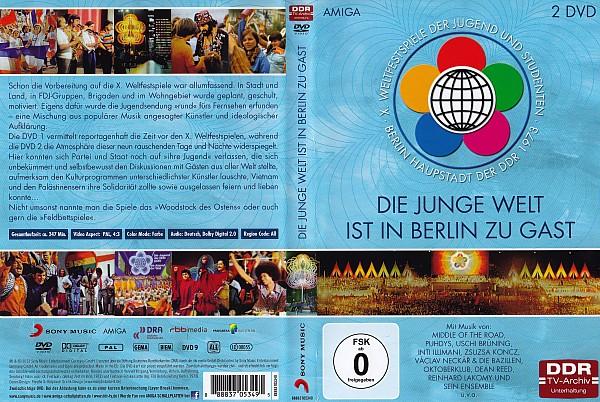 """Dokumentensammlung sony music DVD """"Die junge Welt ist in Berlin zu Gast"""""""