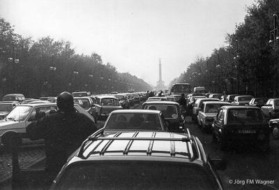 Straße des 17. Juni am 12.11.1989