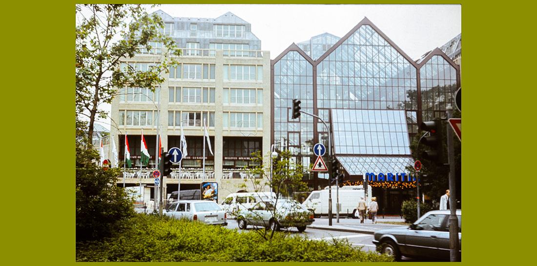Hotel Maritim während des 2. medienforums nrw am 11.06.1990 | Foto: © Jörg Wagner
