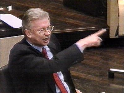 Roland Koch, MP Hessen