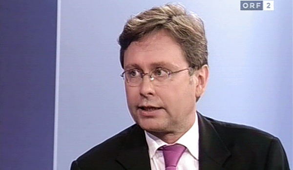 Dr. Alexander Wrabetz | Screenshot: ORF2, ZIB2, 17.08.2006