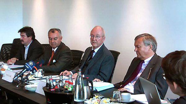 Peter Hill - Carl-Eugen Eberle -  Prof. Dr. Hans Peter Bull - Hermann Eicher |  Foto: © Jörg Wagner