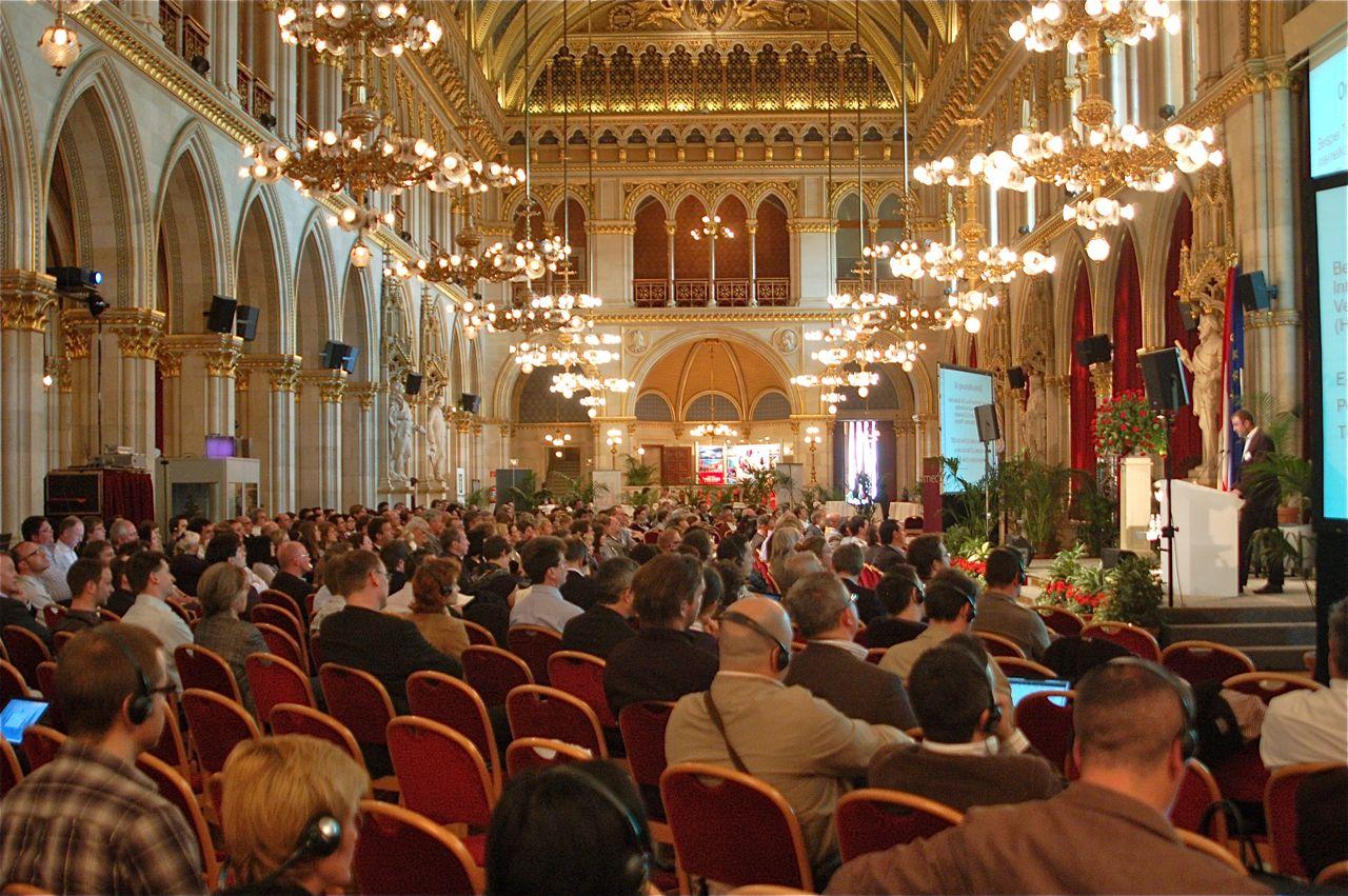 European Newspaper Congress im Wiener Rathaus