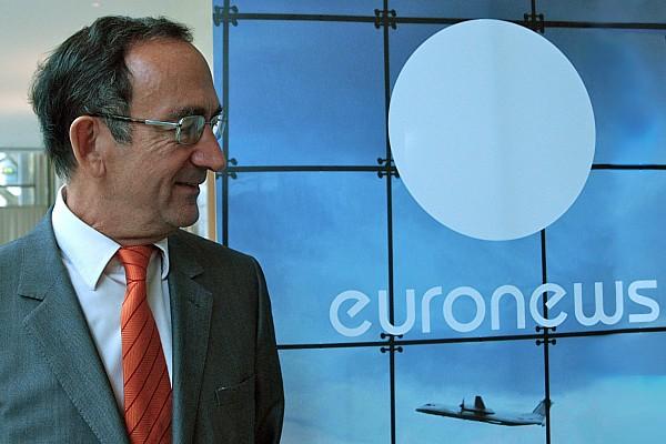 Philippe Cayla, Vorstandsvorsitzender euronews | Foto: © Jörg Wagner
