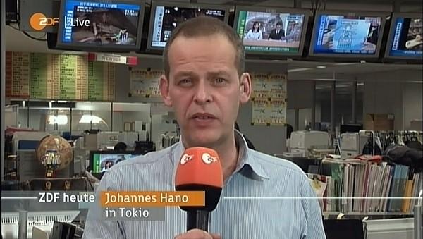 Johannes Hano, ZDF-Korrespondent