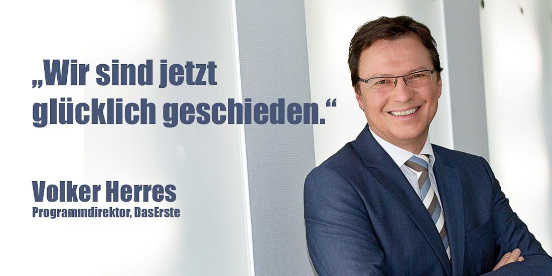 Volker Herres | Foto: ARD/WDR/Herby Sachs