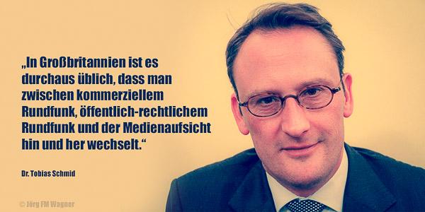 Dr. Tobias Schmid