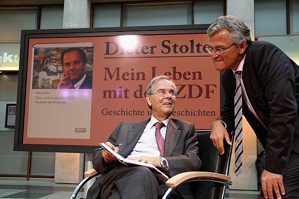 Dieter Stolte - Peter Frey, ZDF-Chefredakteur
