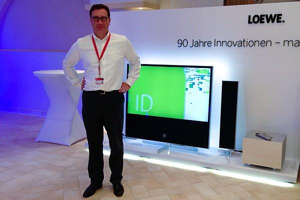 Matthias Harsch, Vorstandsvorsitzender LOEWE AG