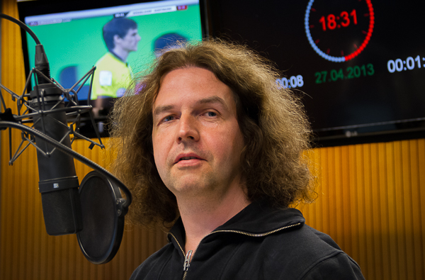 Kai Ludwig im radioeins-Studio | Foto: © Jörg Wagner