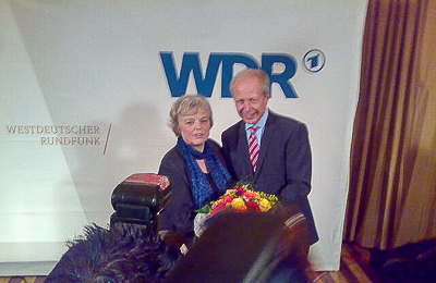 Ruth Hieronymi und Tom Buhrow beim Siegerfoto