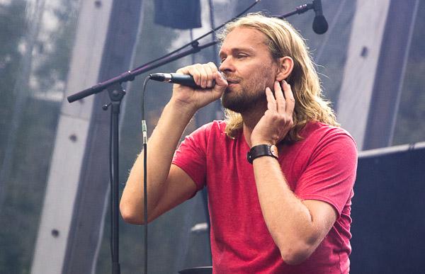 Pohlmann im IFA Sommergarten am 10.09.2013 kurz nach dem Radiointerview