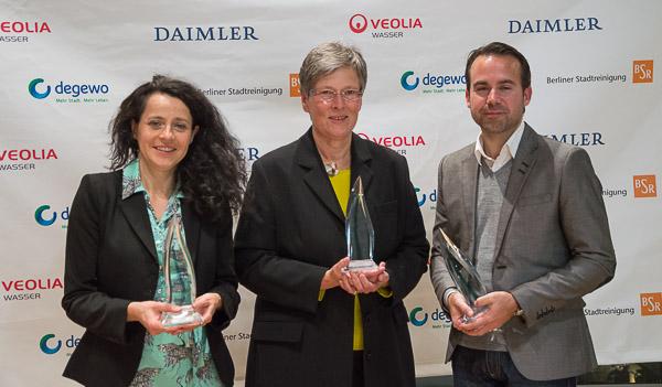 Preisträger 2013: Katrin Rothe, Simone Wendler, Mario Kaiser