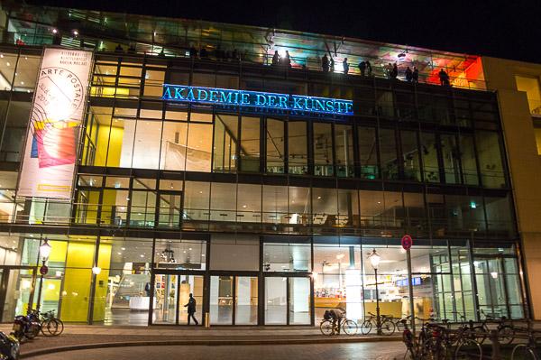 Akademie der Künste - Ort der Preisverleihung