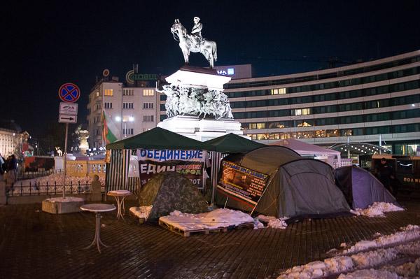 Sofia - Platz vor dem Parlament