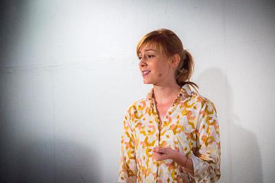 Moderatorin Eva Schulz, freie Journalistin