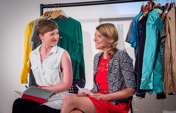 Lisa Altmeier und Steffi Fetz, Crowdspondent