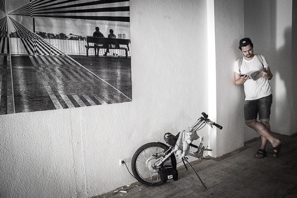 Generation Ladekabel im Berliner Lehrter Siebzehn, erste Location für den Urban Journalism Salon