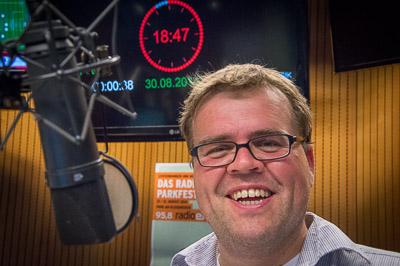 Steffen Grimberg während der Sendung