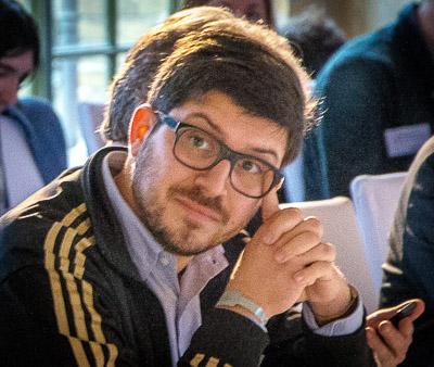 Christopher Lauer beim  M100 Sanssouci Colloquium, 2014