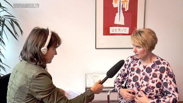 Vera Linß (links) beim Interview mit Yvonne Hofstetter