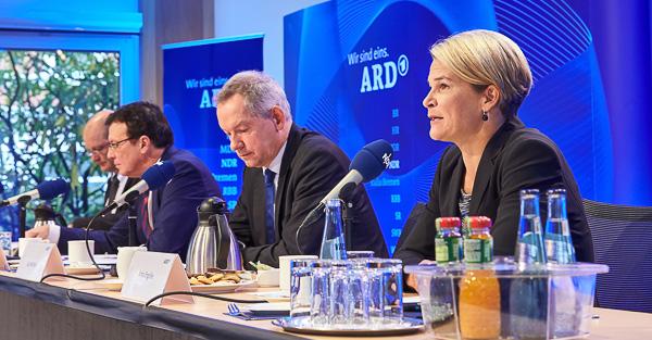 ARD-Pressekonferenz in Hannover