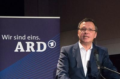 Volker Herres während seiner top-of-the-docs-Rede
