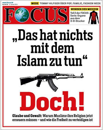 FOCUS-Cover vom 17.01.2015