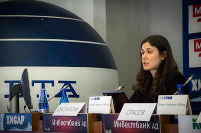 Nikoleta Daskalova; © 03.02.2015, Jörg Wagner