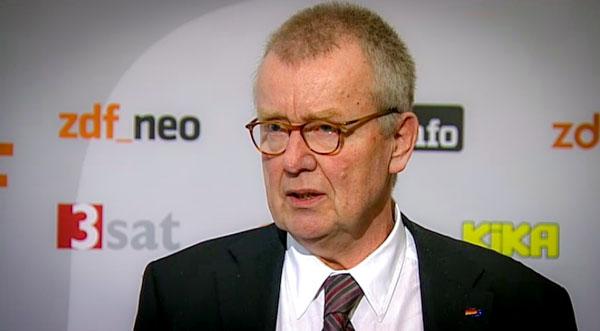Ruprecht Polenz nach der Fernsehratssitzung am 13.03.2015