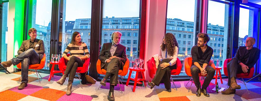 1. Google-Talk | Foto: © Jörg Wagner