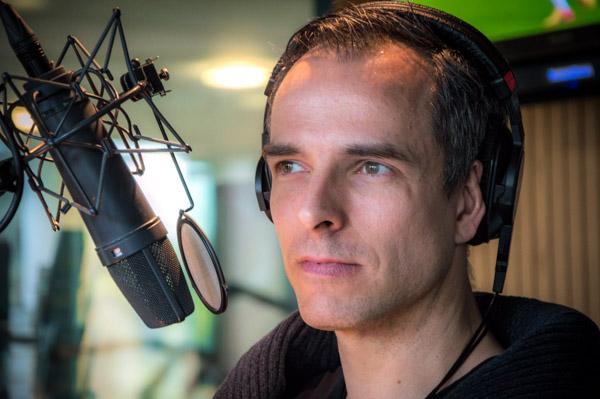 "Alexander ""Sascha"" Wolf im radioeins-Studio"