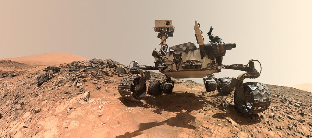 Curiosity-Mars-Rover-Selfie   Foto: © NASA/JPL-Caltech/MSSS