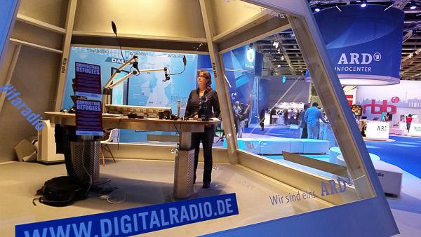 Gläsernes IFA-Radio-Studio