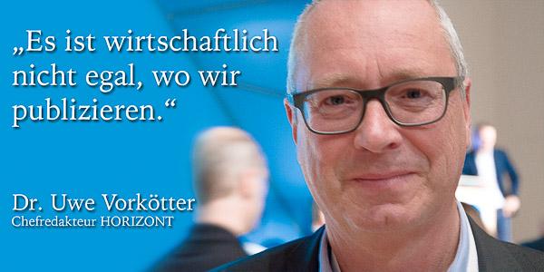 Dr. Uwe Vorkötter