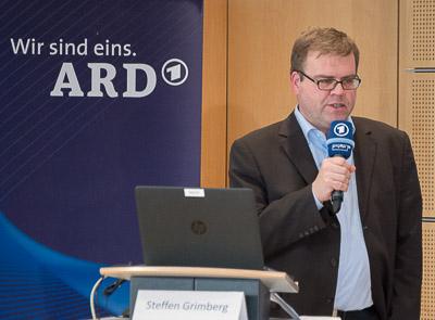 Steffen Grimberg, ARD-Sprecher