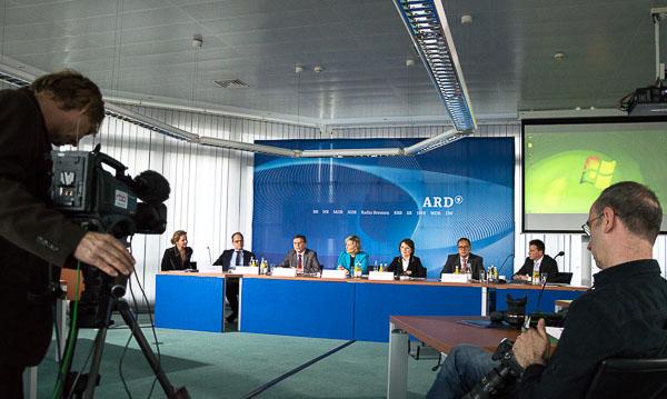 ARD-Pressekonferenz nach der ARD-Hauptversammlung