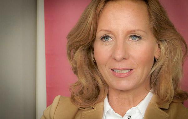 Patricia Schlesinger während des Interviews