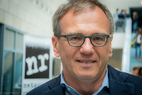 Armin Wolf während der netzwerk-recherche-Jahreskonferenz 2016 | Foto: © Jörg Wagner