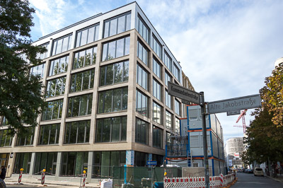 Das neue Verlagsgebäude