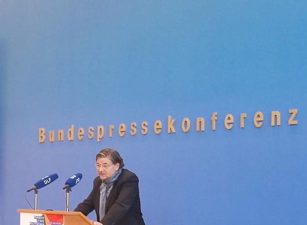 Prof. Jan-Werner Müller während seines Vortrags