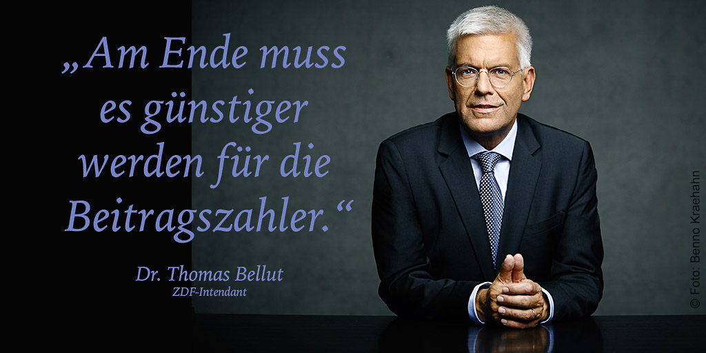 Dr. Thomas Bellut | © Foto: Benno KraehahnDr. Thomas Bellut | © Foto: Benno Kraehahn