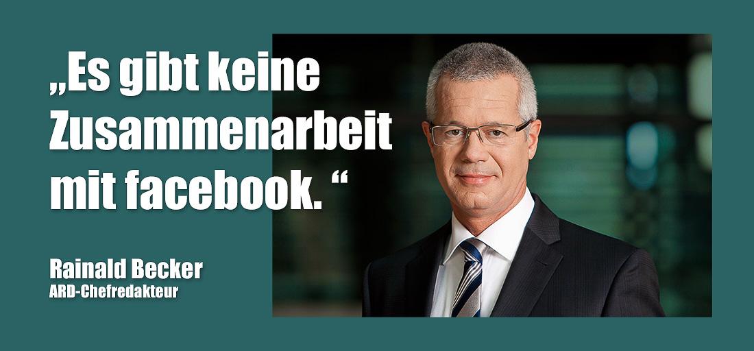 Rainald Becker | Foto: © ARD-Hauptstadtstudio/Thomas Kierok