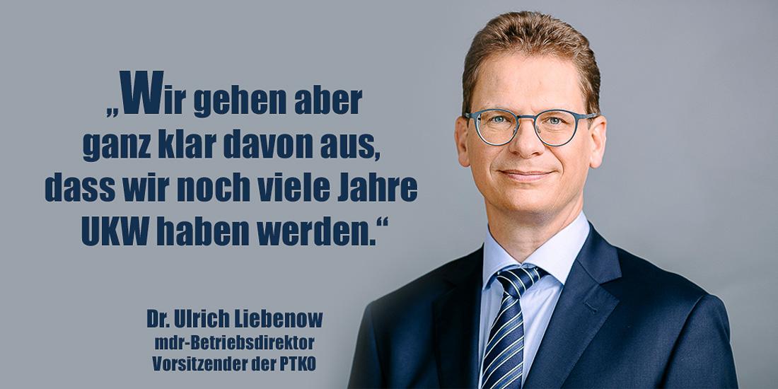 Dr. Ulrich Liebenow | Foto: © mdr/Stephan Flad