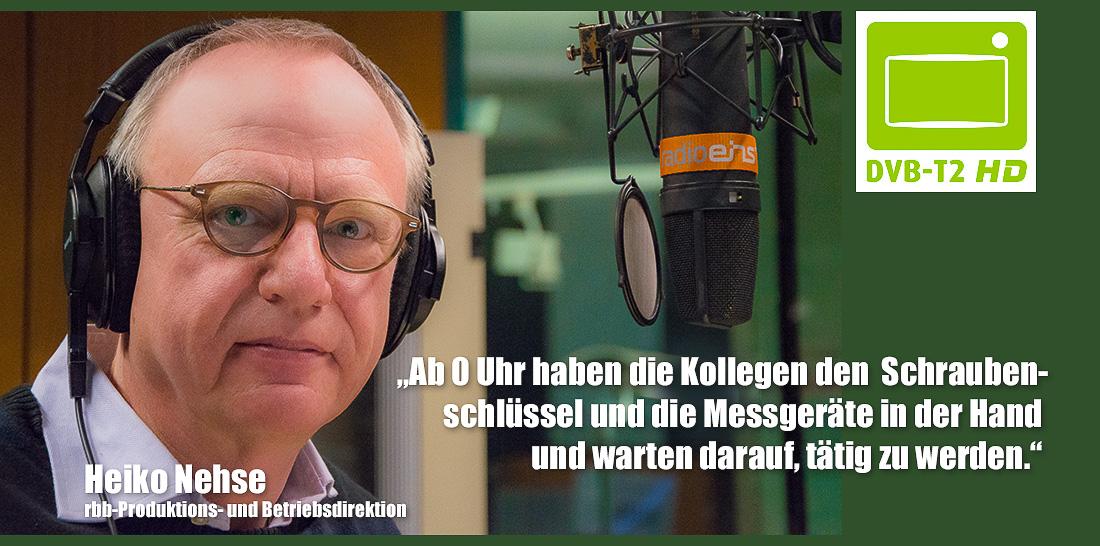 Heiko Nehse im radioeins-Sendestudio | Foto: © Jörg Wagner