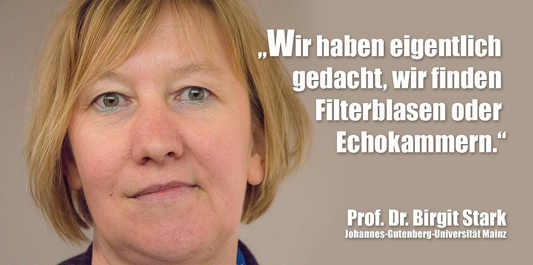 Prof. Dr. Birgit Stark | Foto: © Jörg Wagner