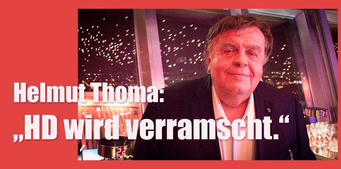 Helmut Thoma in 207 Meter Höhe | Foto: © Jörg Wagner