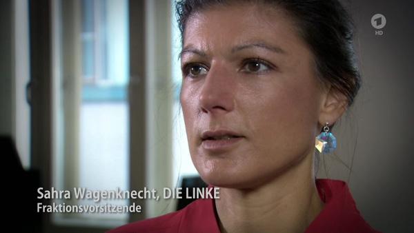Sahra Wagenknecht | Screenshot: © ARD