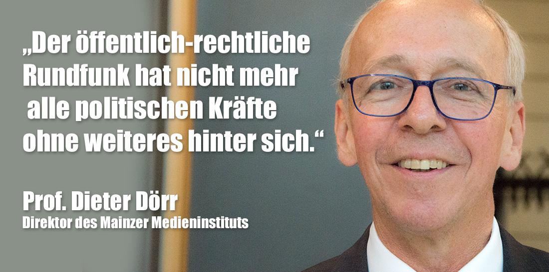 Prof. Dr. Dieter Dörr | Foto: © Jörg Wagner