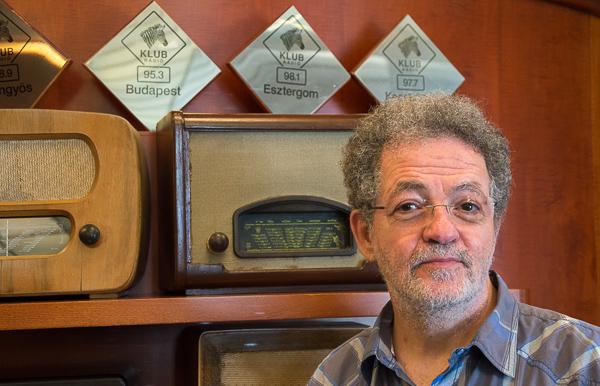 András Arató, Geschäftsführer von Klub Rádio in Budapest, das die meisten UKW-Frequenzen verlor | Foto: © Jörg Wagner